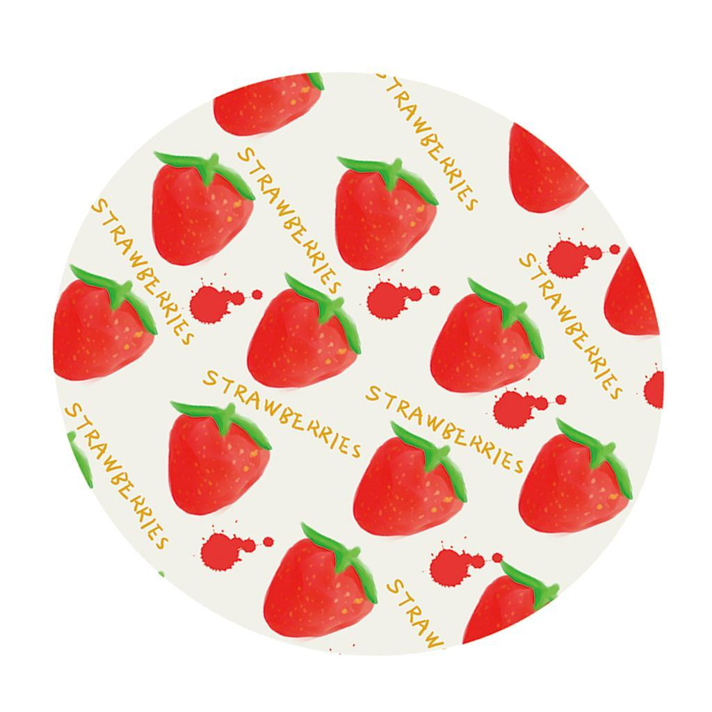 Round-Tablecloth-Table-Cover-Dining-Party-Supplies-1-2m-Dia-Strawberry thumbnail 5