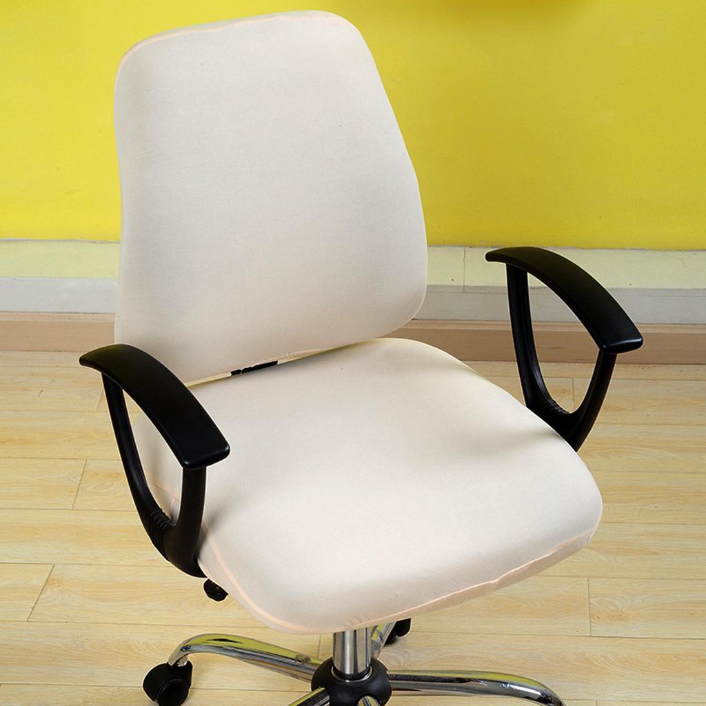 Housse-de-chaise-de-bureau-extensible-souple-Housse-de-chaise-d-039-ordinateur-de miniature 9