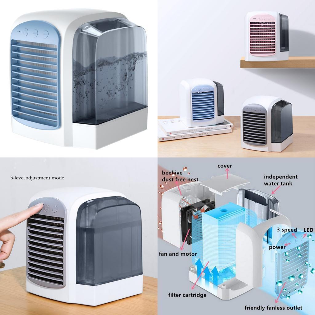 miniature 7 - Ventilateur-de-refroidissement-par-eau-de-refroidisseur-de-climatiseur-de