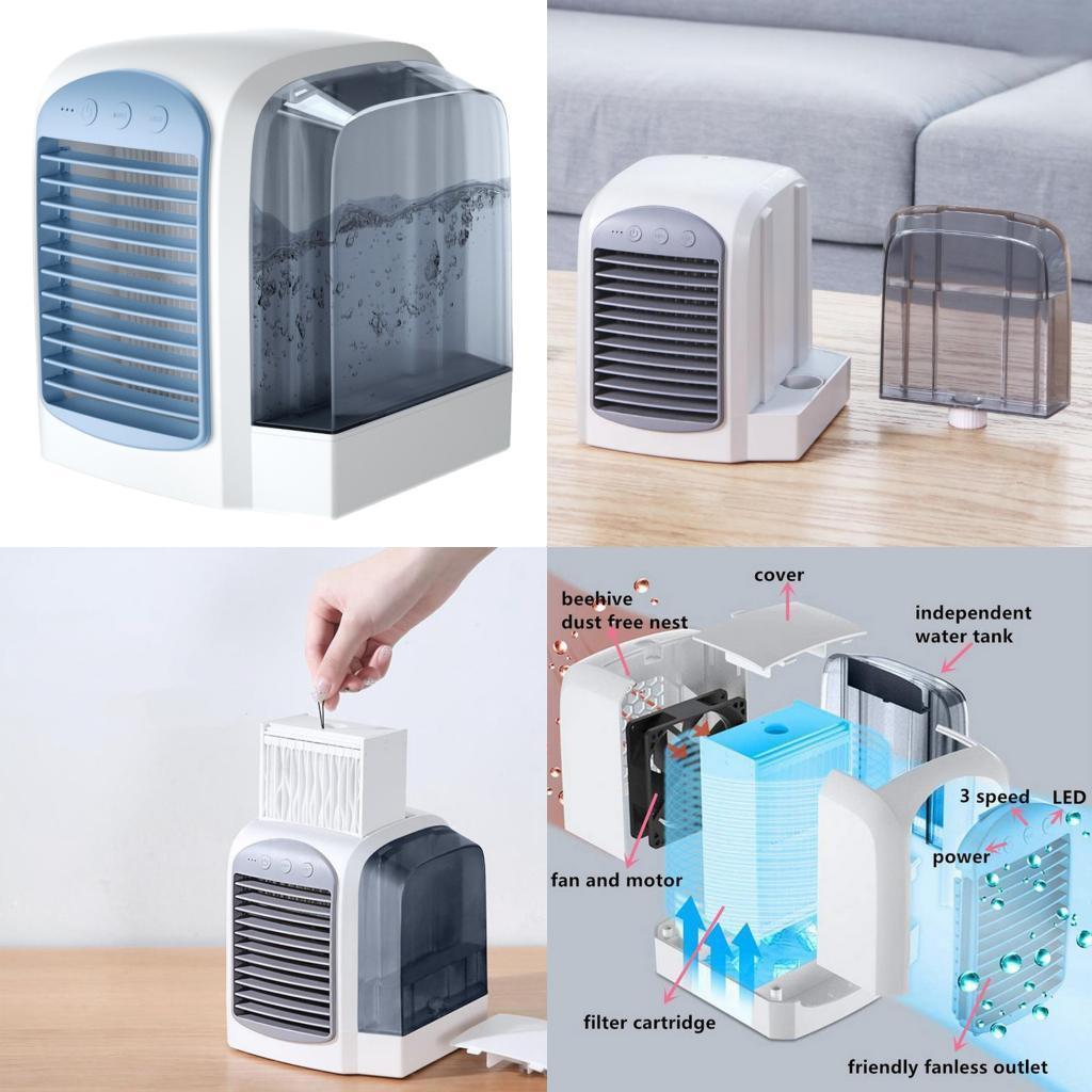 miniature 8 - Ventilateur-de-refroidissement-par-eau-de-refroidisseur-de-climatiseur-de
