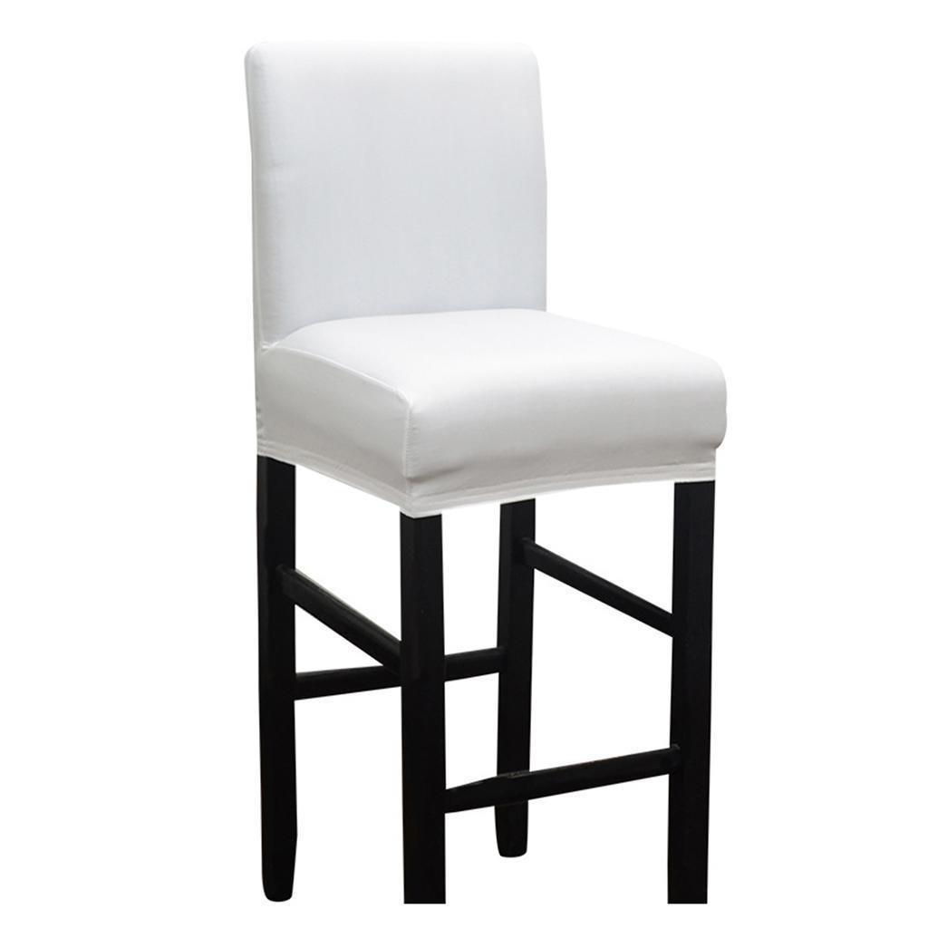 Housse-de-chaise-de-salle-a-manger-extensible-Housse-de-protection-pour miniature 4