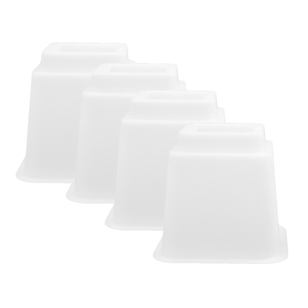 Alzate-per-mobili-Set-da-4-pezzi-Tavolino-regolabile-per-sedia-Alzata-Utopia miniatura 6