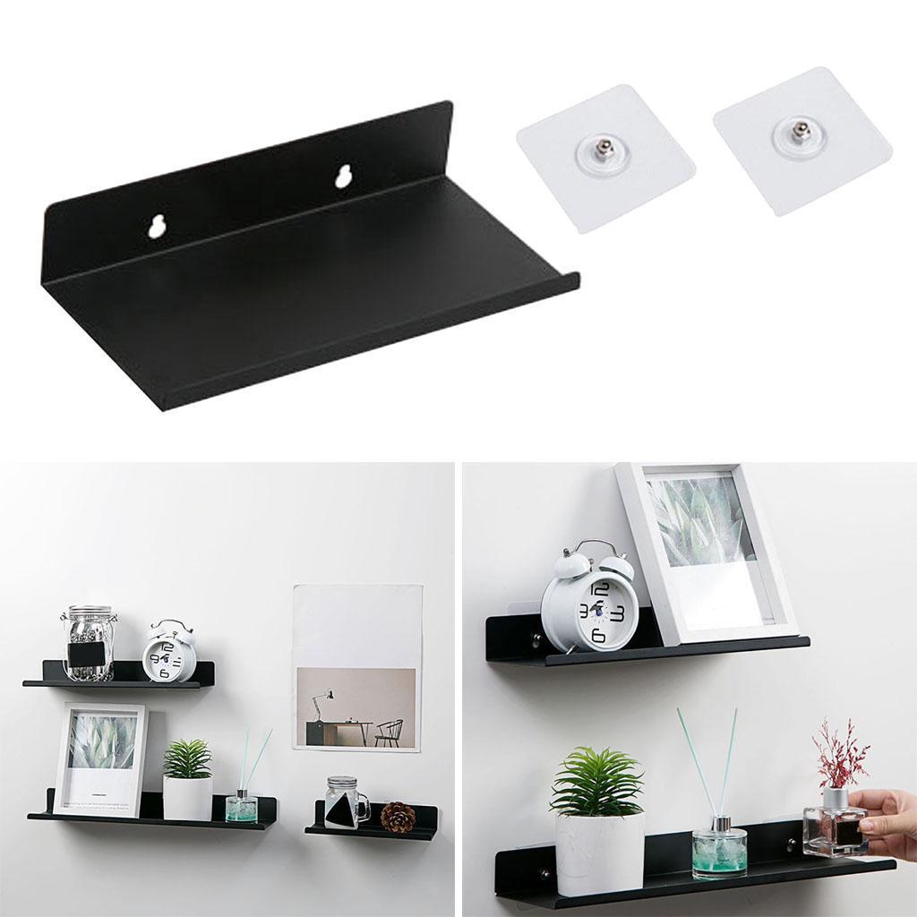 miniatura 7 - Durevole In Acciaio Al Carbonio Mensola Mobile Rack per la Casa