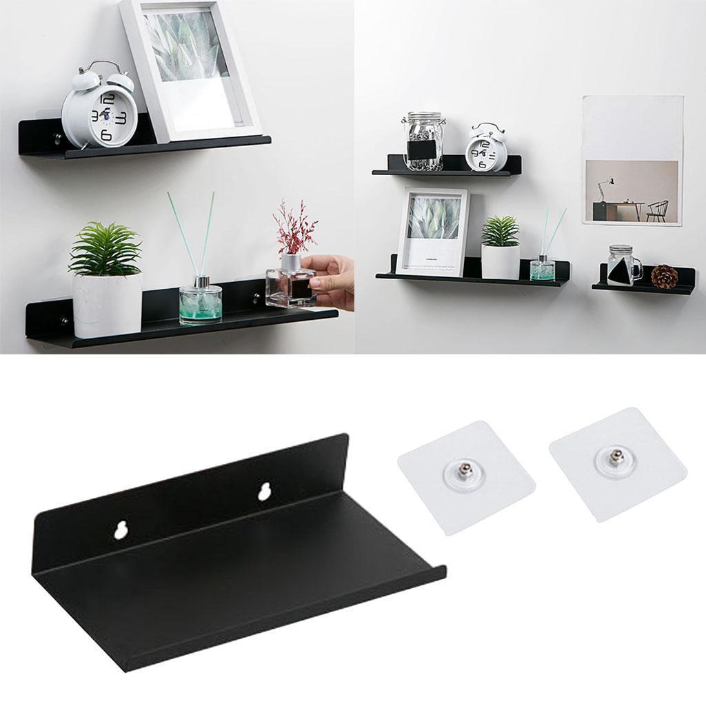 miniatura 5 - Durevole In Acciaio Al Carbonio Mensola Mobile Rack per la Casa