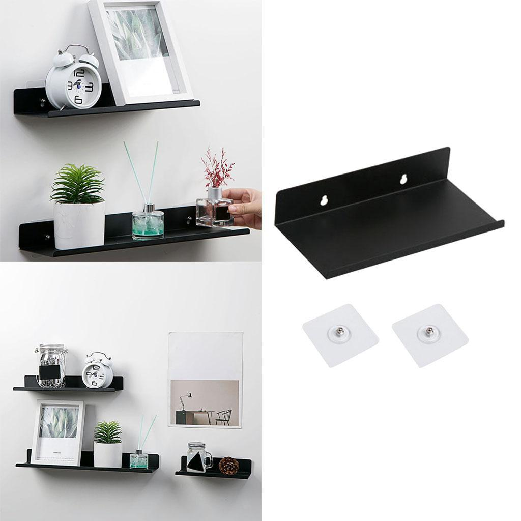 miniatura 9 - Durevole In Acciaio Al Carbonio Mensola Mobile Rack per la Casa