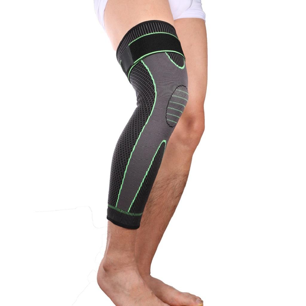 Knee-Sleeve-Brace-Support-Compression-for-Running-Sport-Gym-Joint-Pain-Arthritis thumbnail 3