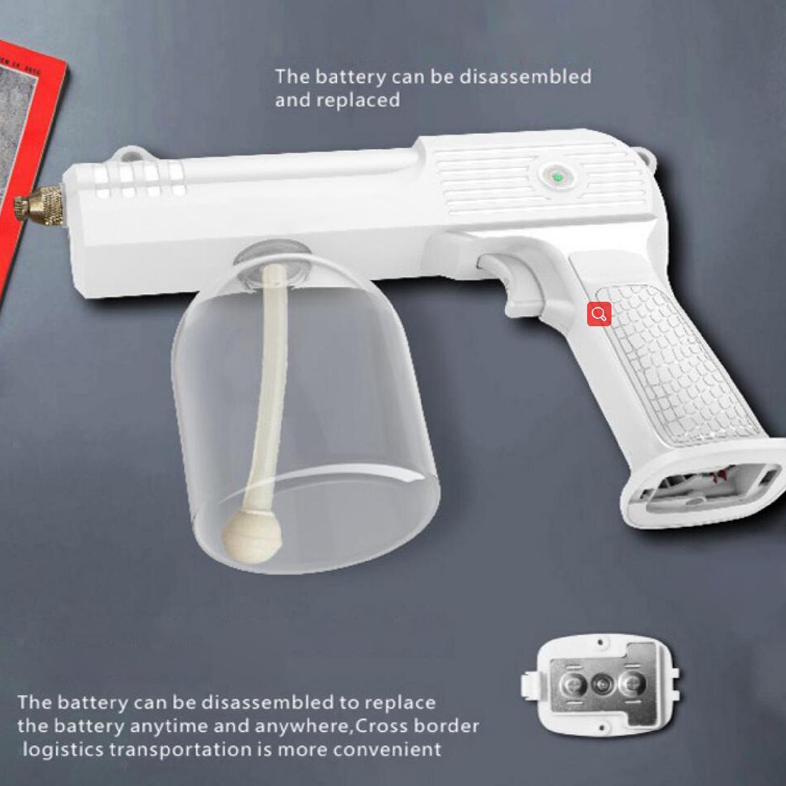 thumbnail 11 - 2x Cordless USB Nano Sanitizer Sprayer Disinfectant Fogger 500ml Spray Gun