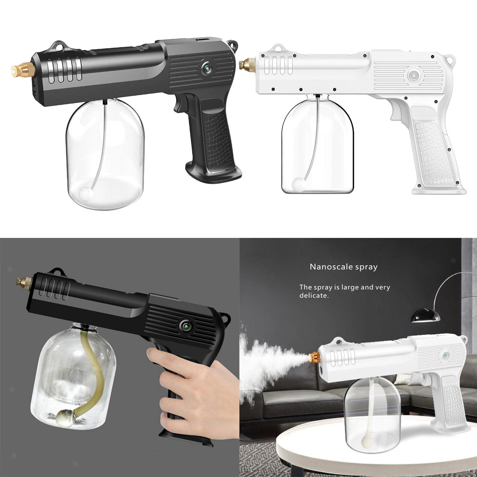 thumbnail 2 - 2x Cordless USB Nano Sanitizer Sprayer Disinfectant Fogger 500ml Spray Gun
