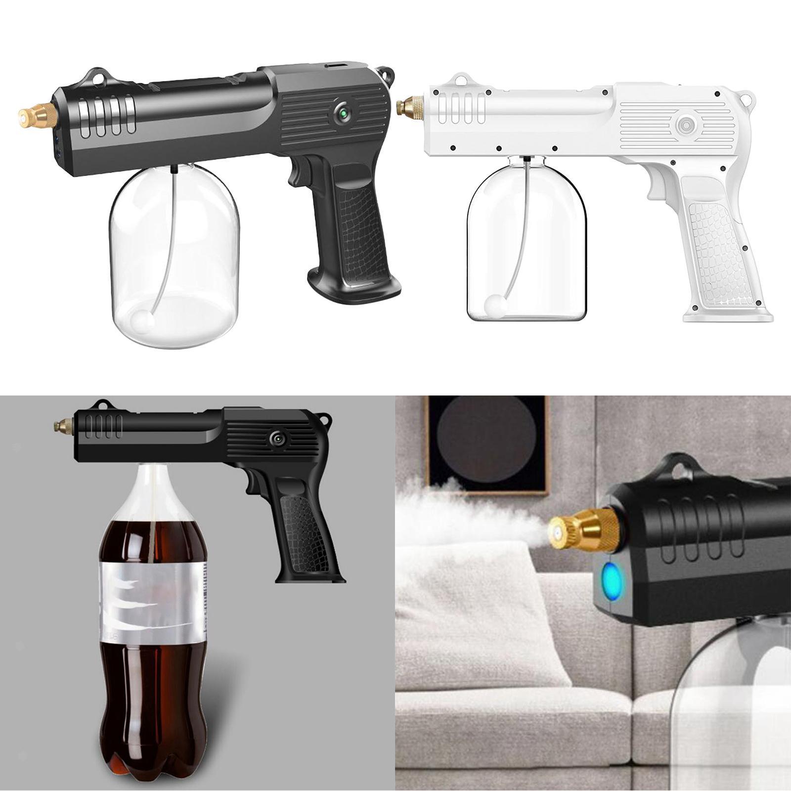 thumbnail 8 - 2x Cordless USB Nano Sanitizer Sprayer Disinfectant Fogger 500ml Spray Gun