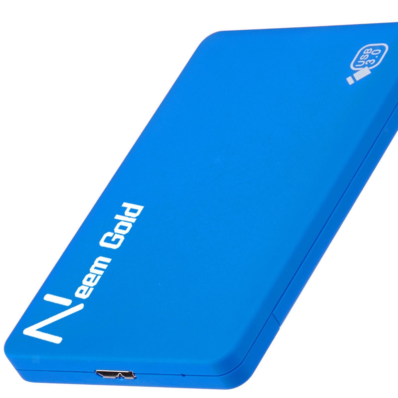 miniature 10 - ABS External Portable USB 3.0 Hard Drive Disk HDD for Desktop Laptop New