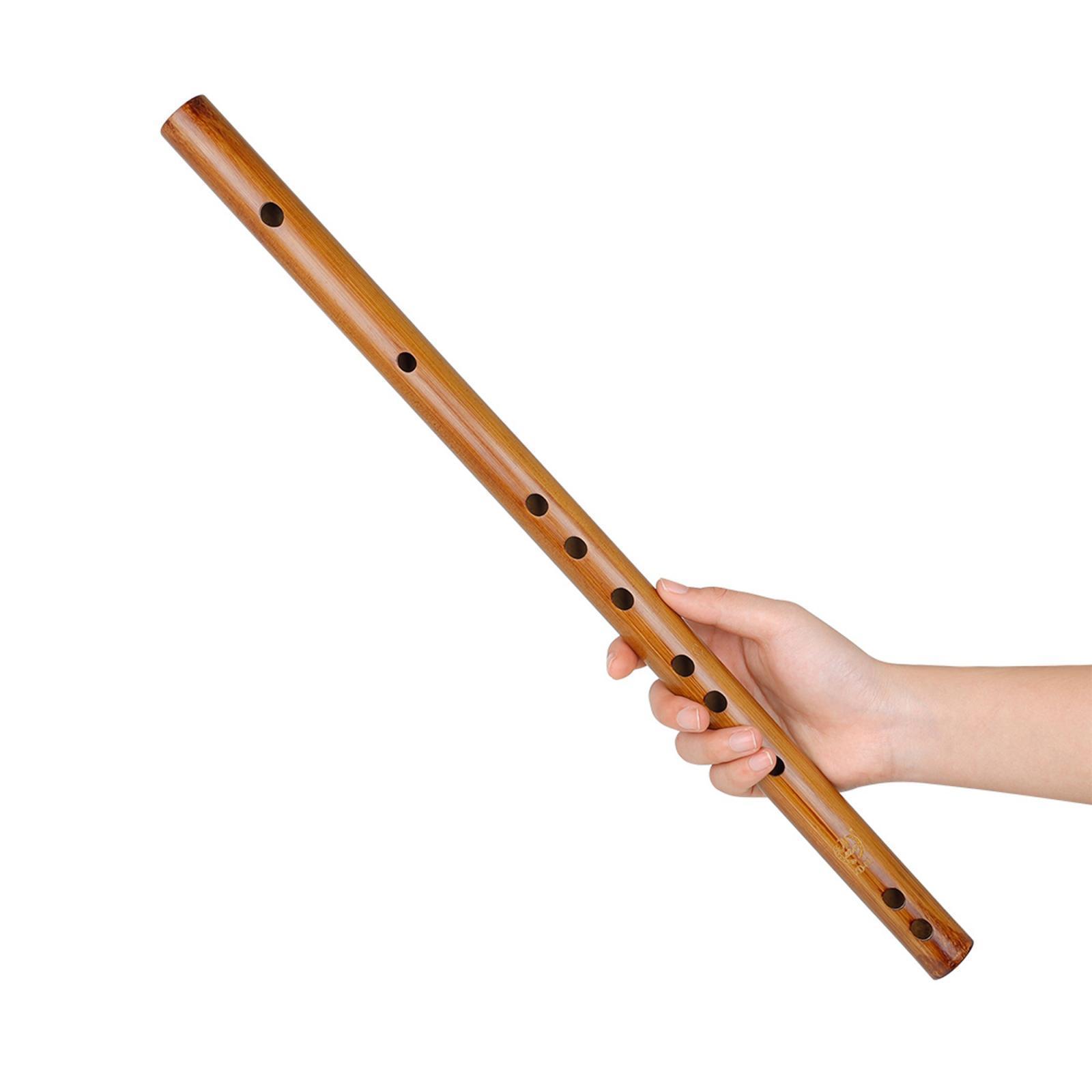miniatura 11 - Unico-Indiano-di-Legno-Flauto-Strumento-Musicale-Registratore-Bansuri-Regalo