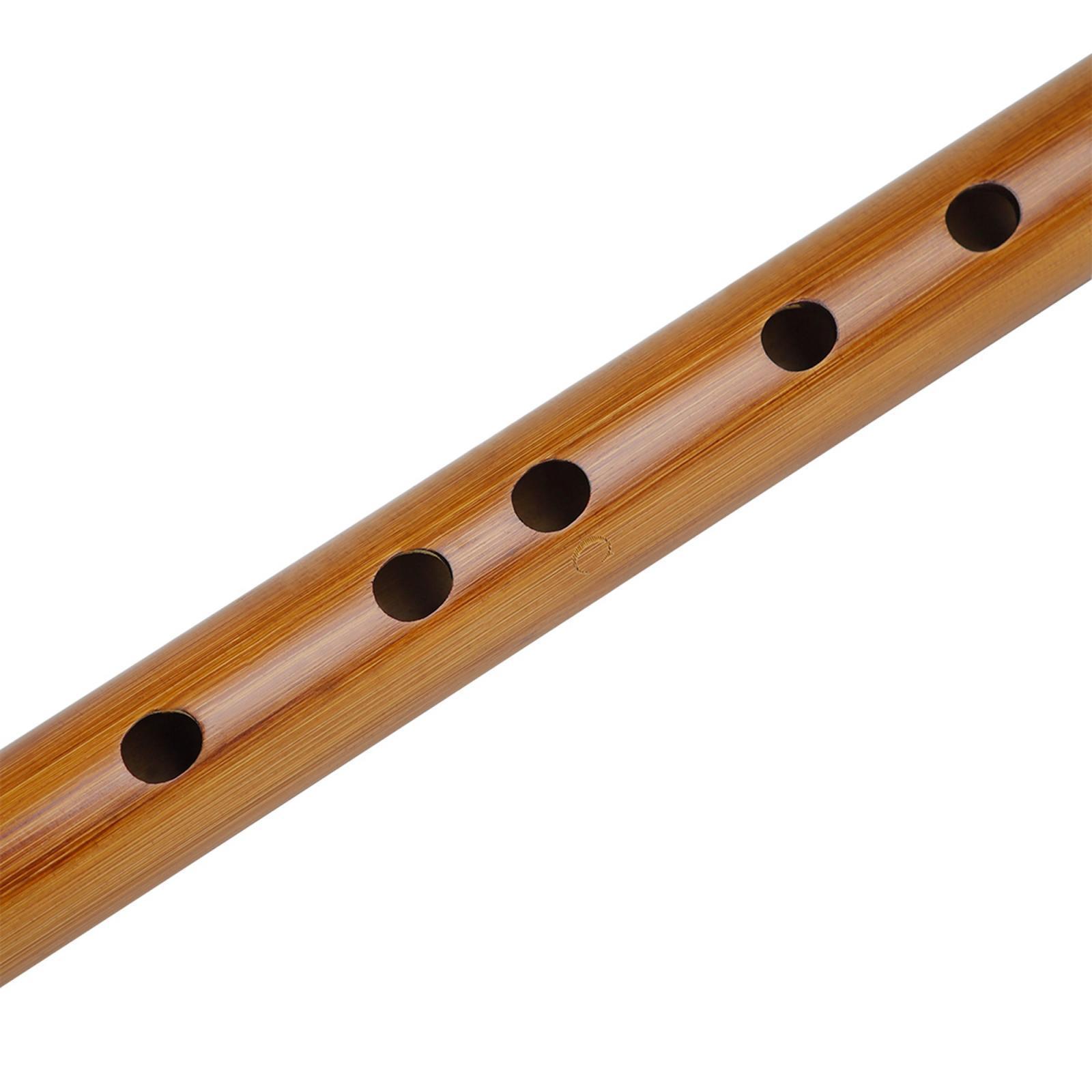 miniatura 12 - Unico-Indiano-di-Legno-Flauto-Strumento-Musicale-Registratore-Bansuri-Regalo