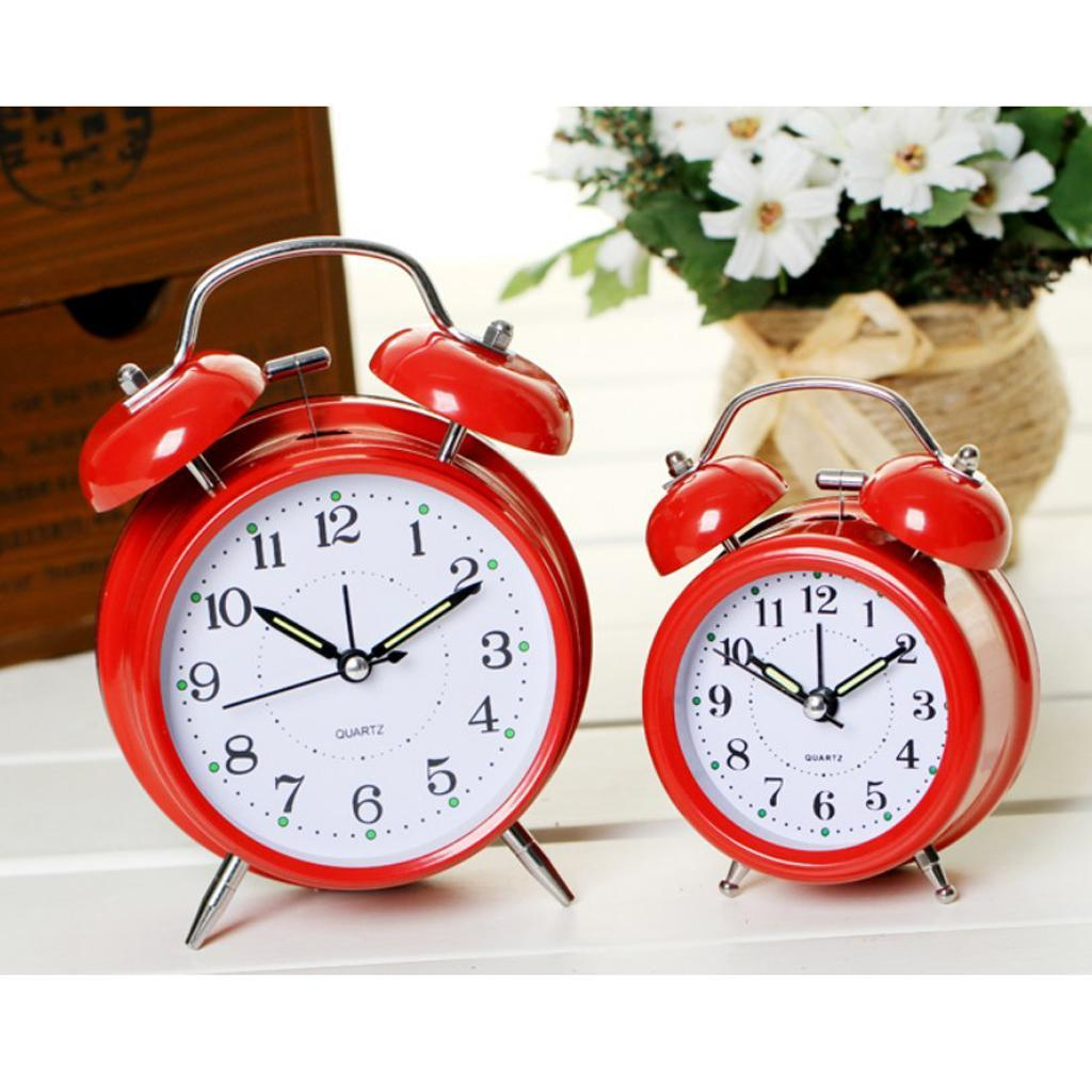 3inch-Travel-Non-ticking-Bedside-Alarm-Clock-Battery-Twin-Bell-Loud-Chime-Clock thumbnail 12
