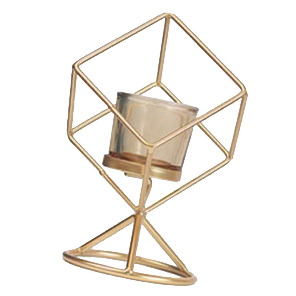3D-Geometric-Candlestick-Pillar-Candle-Holder-for-Party-Room-Home-Decor thumbnail 3
