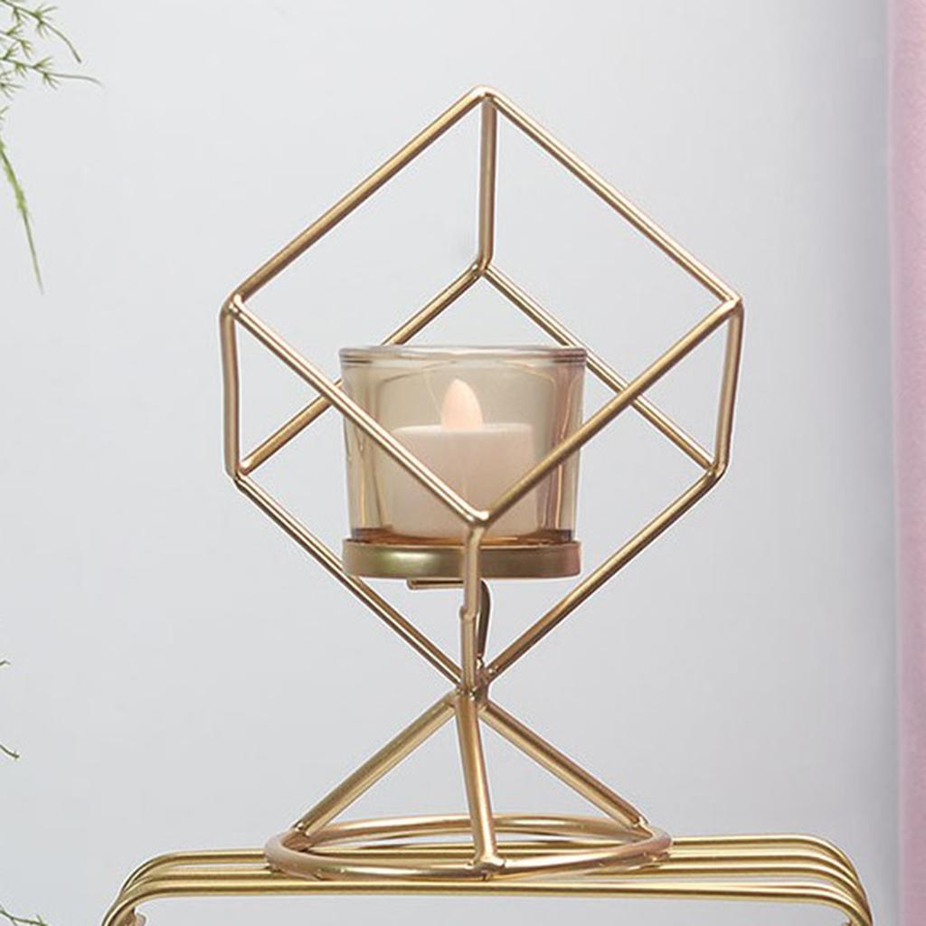 3D-Geometric-Candlestick-Pillar-Candle-Holder-for-Party-Room-Home-Decor thumbnail 4