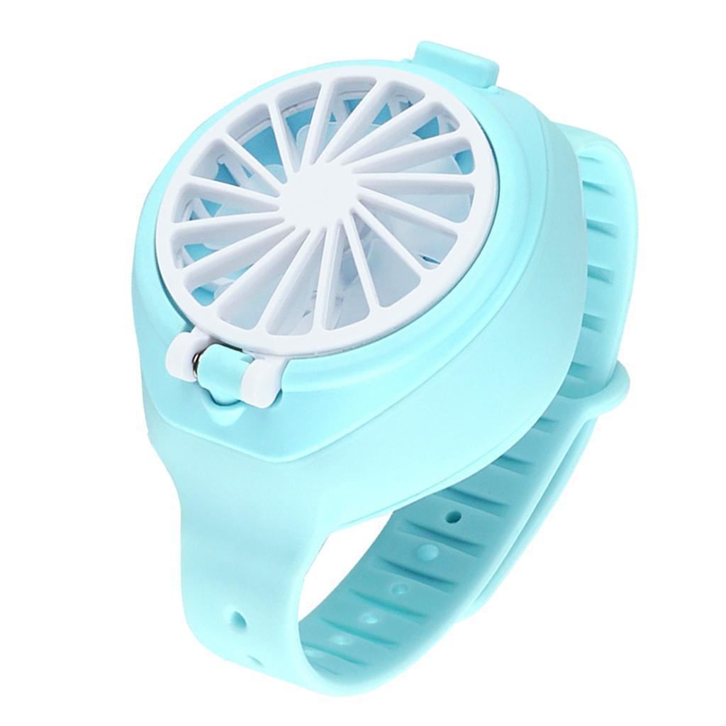 Ventilateur USB au Poignet Montrant Une Charge cr/éative Trois Vitesses de Vent Mini Ventilateurs portatifs pour Les Enfants HAINIWER Montres Amusantes pour Les Enfants