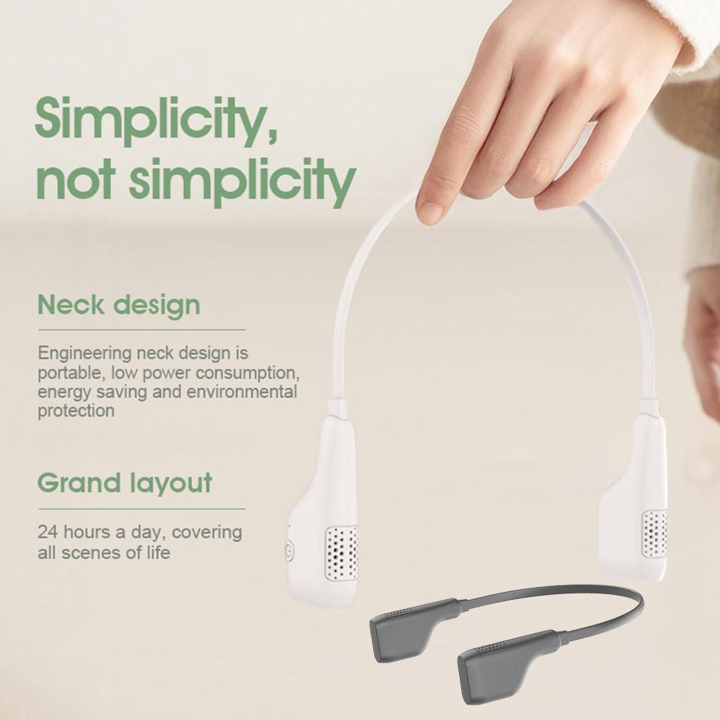 Cou-paresseux-portatif-Rechargeable-d-039-usb-accrochant-le-Mini-ventilateur-de miniature 7