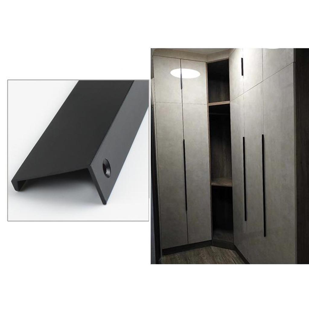 Simple Hidden Cabinet Handles Drawer Knobs Bedroom Locker ...