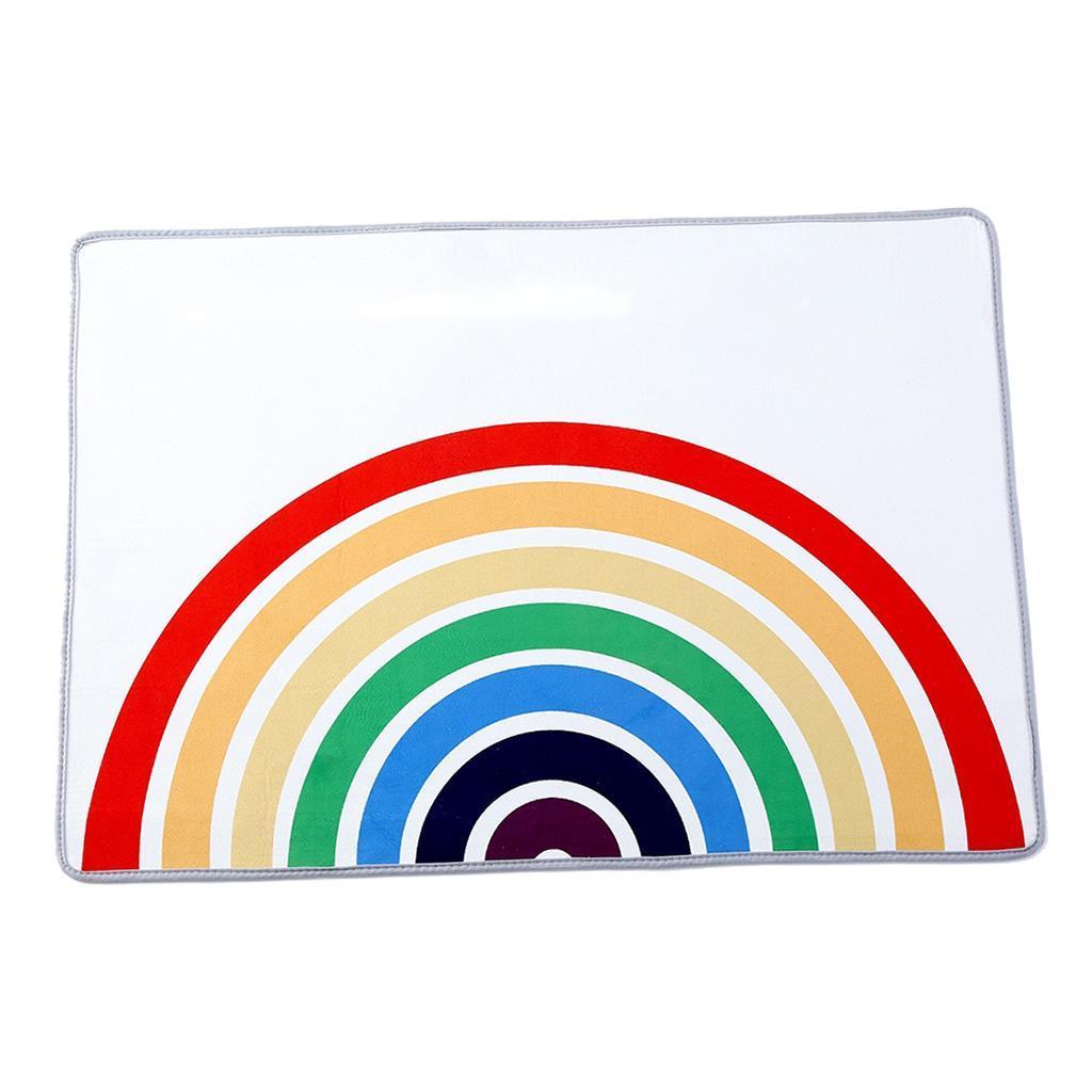 Ingresso-Rainbow-Area-Tappetino-Tappetino-Zerbino-Camera-dei-bambini-Decorazione miniatura 7