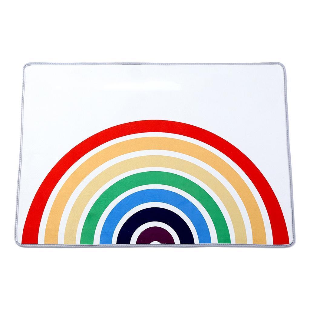 Ingresso-Rainbow-Area-Tappetino-Tappetino-Zerbino-Camera-dei-bambini-Decorazione miniatura 6
