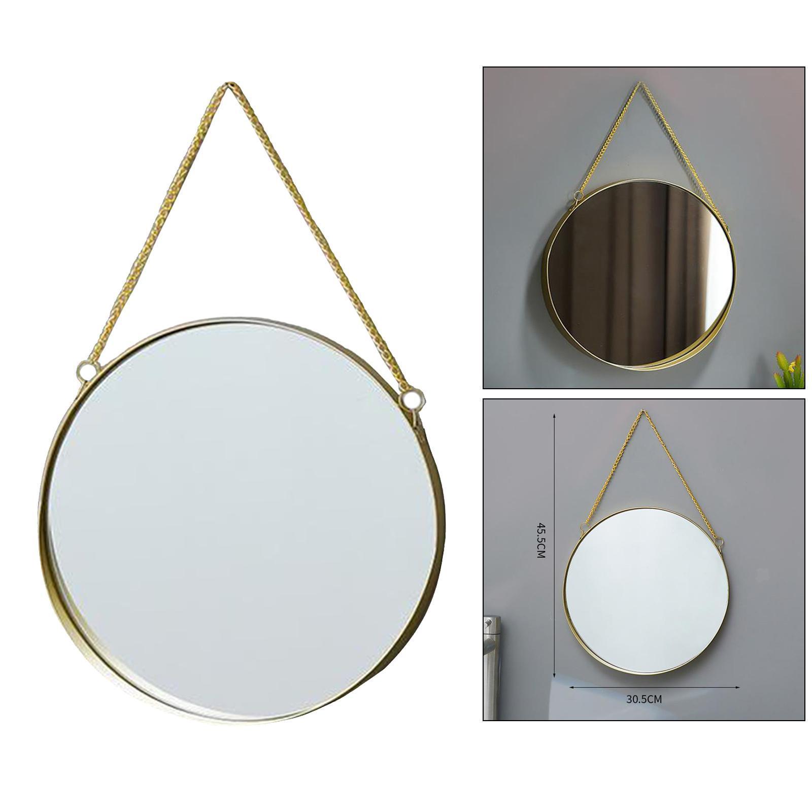 Decorazioni Di Metallo Parete Specchio Da Parete Rotondo Geometrico Decorazioni Parete