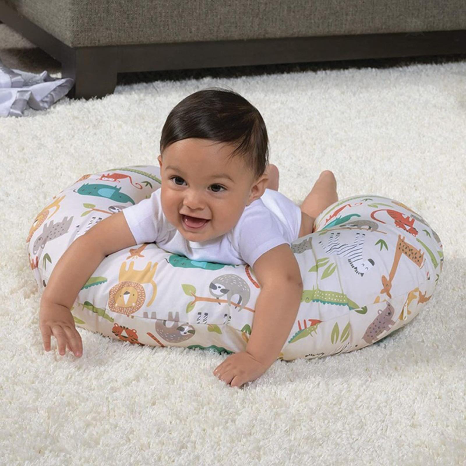 miniatura 7 - A Forma di U Del Bambino Cuscino Allattamento Cuscini di Cura per il Neonato
