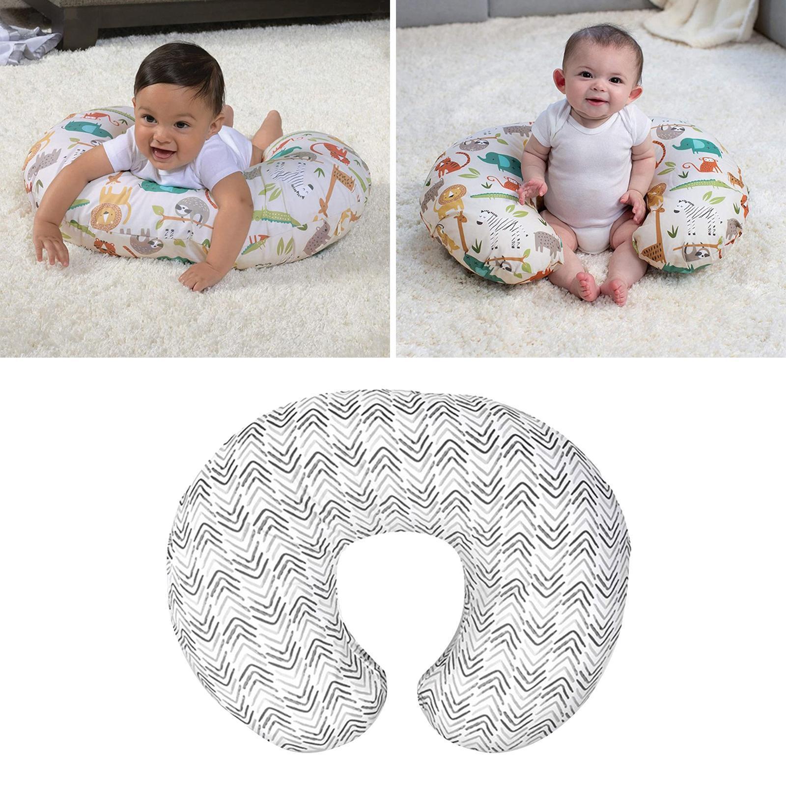 miniatura 6 - A Forma di U Del Bambino Cuscino Allattamento Cuscini di Cura per il Neonato