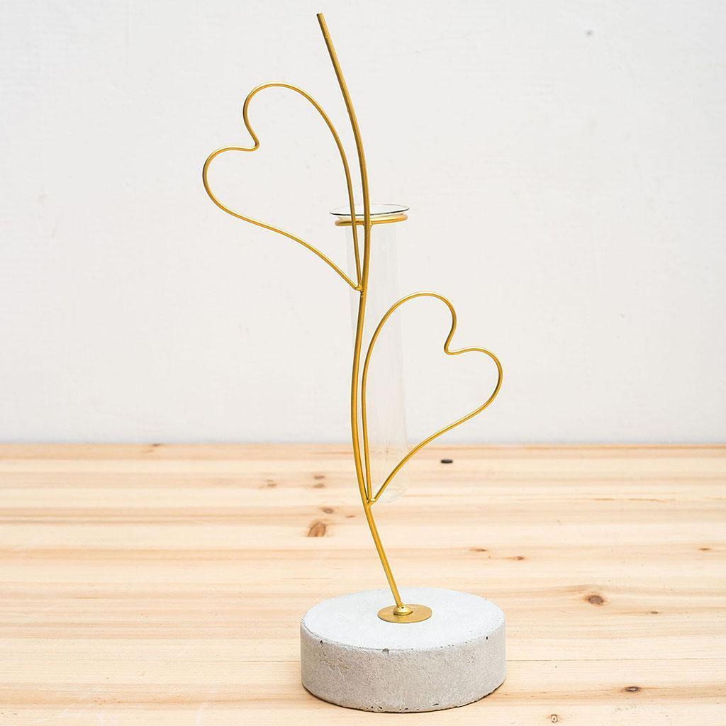 Indexbild 16 - Pflanzen Glasvasen Hydroponische Blumentöpfe Metallrahmenständer