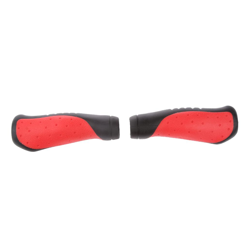 Soft Rubber Mountain Bike Bicycle Cycling Handlebar Grips Handle Grip Cover 25mm