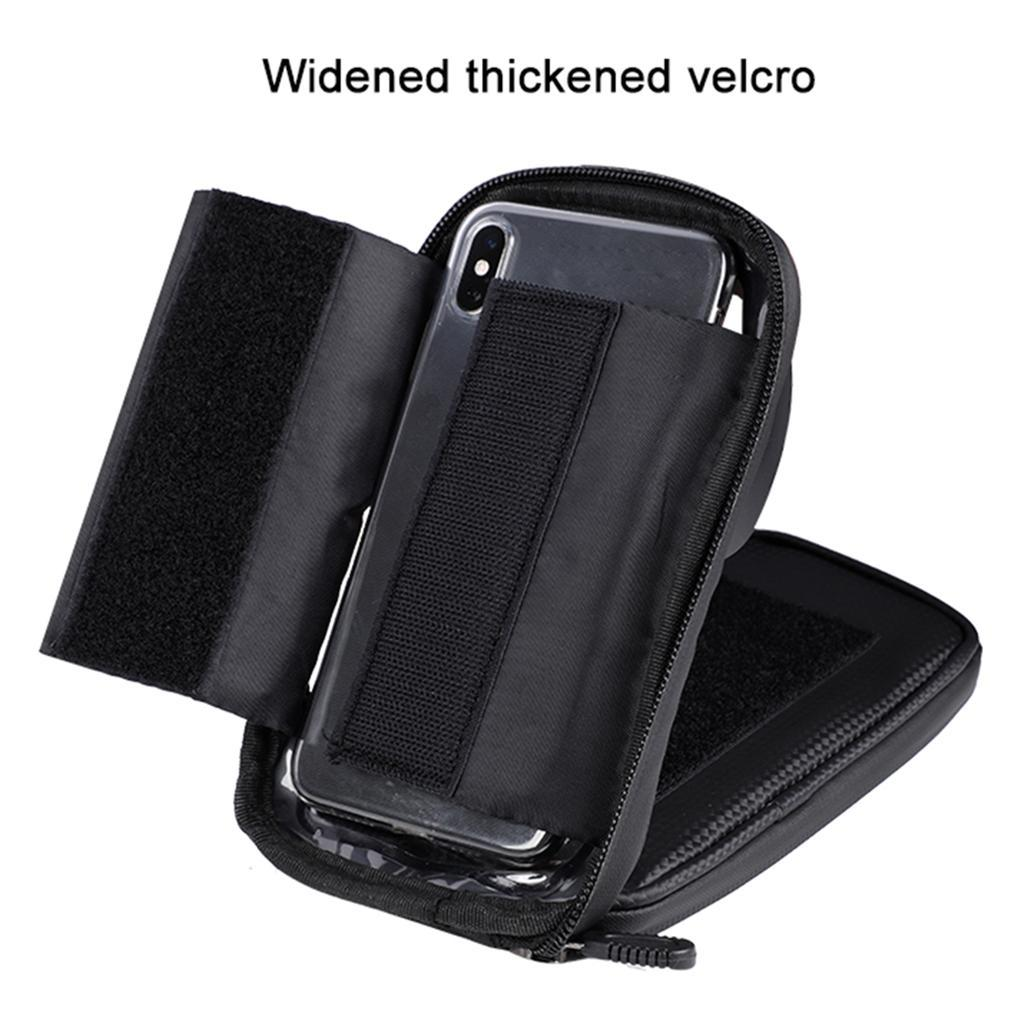 Bicycle-Front-Beam-Bag-Waterproof-Mountain-Bike-Saddle-Bag-Phone-Case-Pouch thumbnail 31