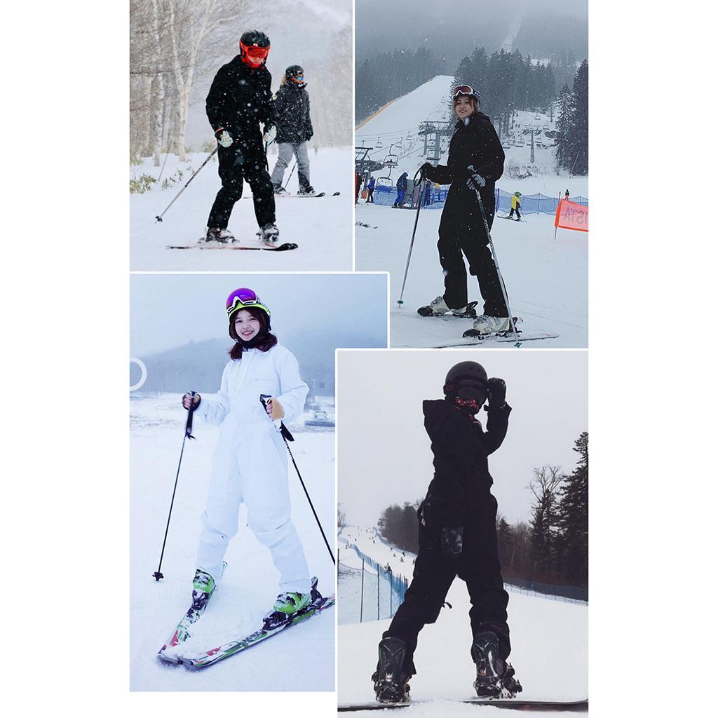 SM SunniMix Skianzug Schneeanzug Wasserdicht Skioverall Schneeoverall f/ür Herren Damen