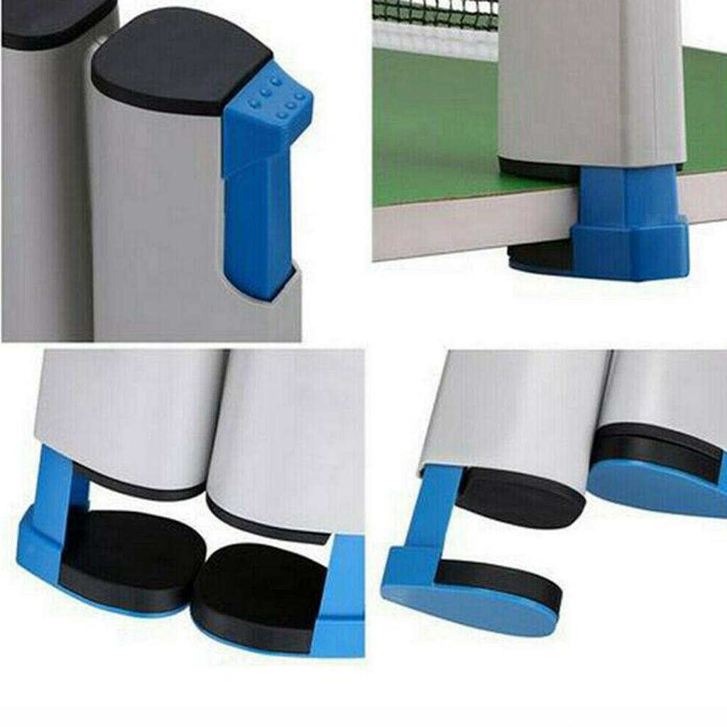 miniature 13 - Einziehbares table tennisnetz Grille stable Mesh Portable Table tennisnetz Rack