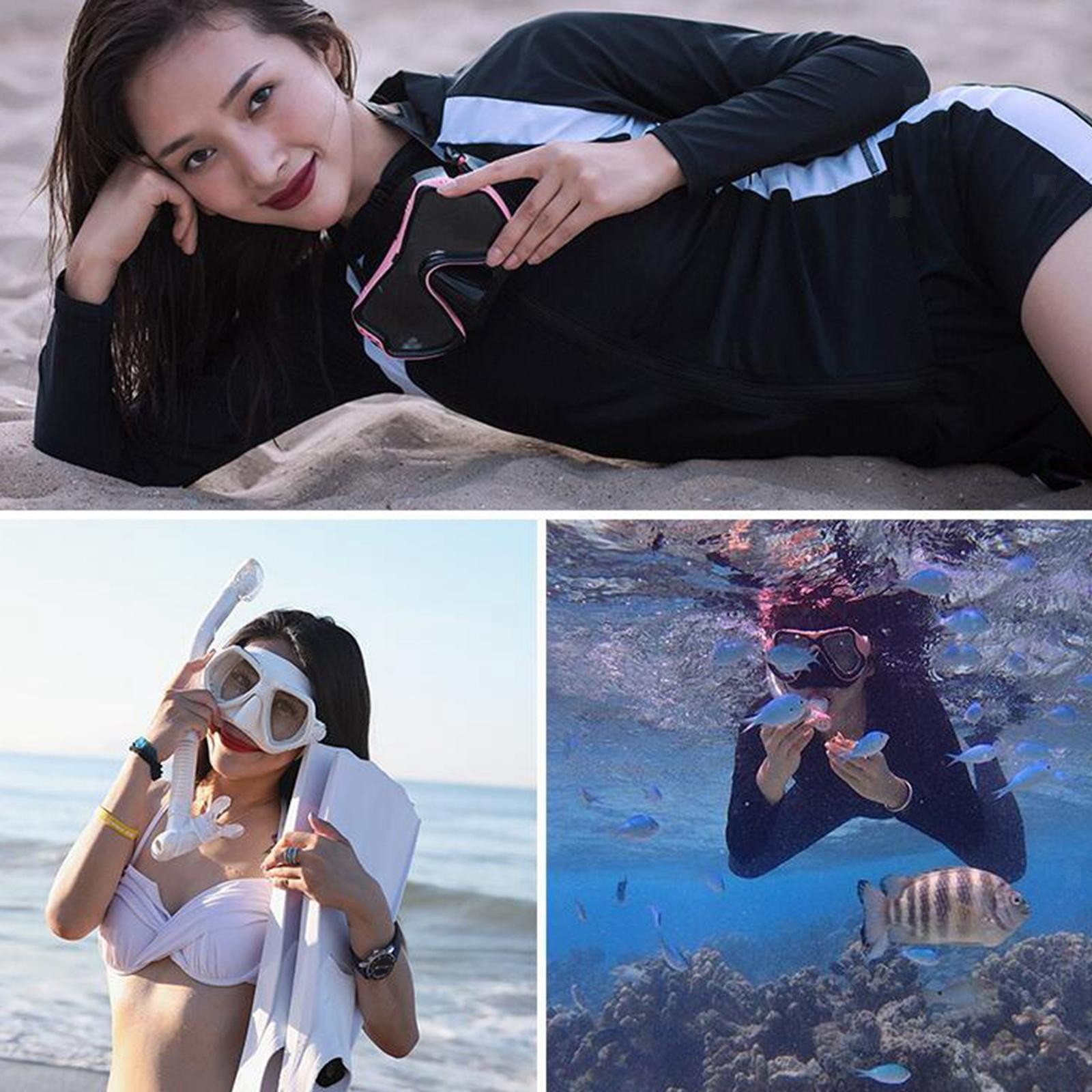 Indexbild 18 - Premium Wet Snorkel Women Men Adults Snorkels Breathing Tube Breath Tube