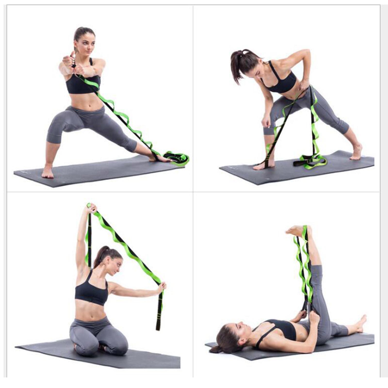 miniatura 23 - Pierna camilla yoga Stretch Strap Latin Dance Gymnastic pull cinturón flexibilidad