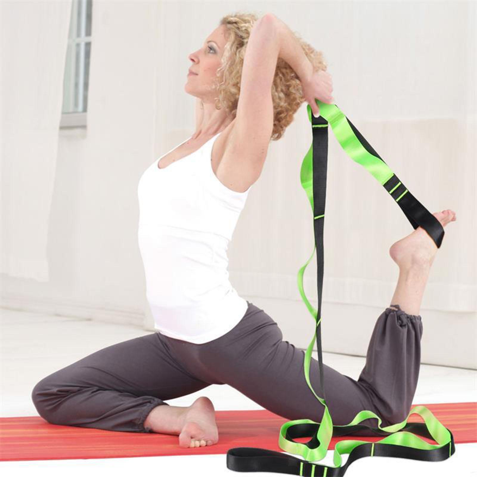 miniatura 26 - Pierna camilla yoga Stretch Strap Latin Dance Gymnastic pull cinturón flexibilidad