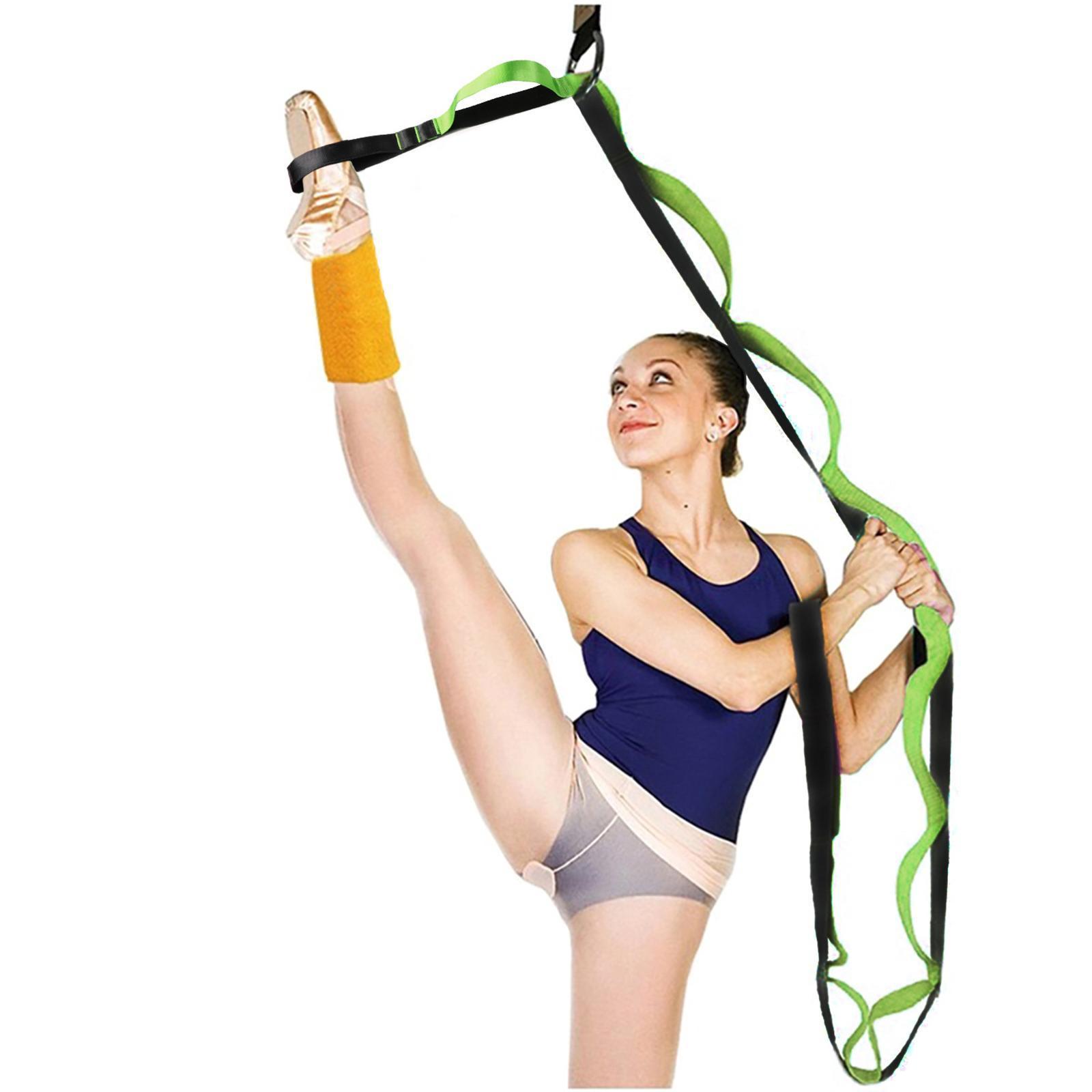 miniatura 16 - Pierna camilla yoga Stretch Strap Latin Dance Gymnastic pull cinturón flexibilidad