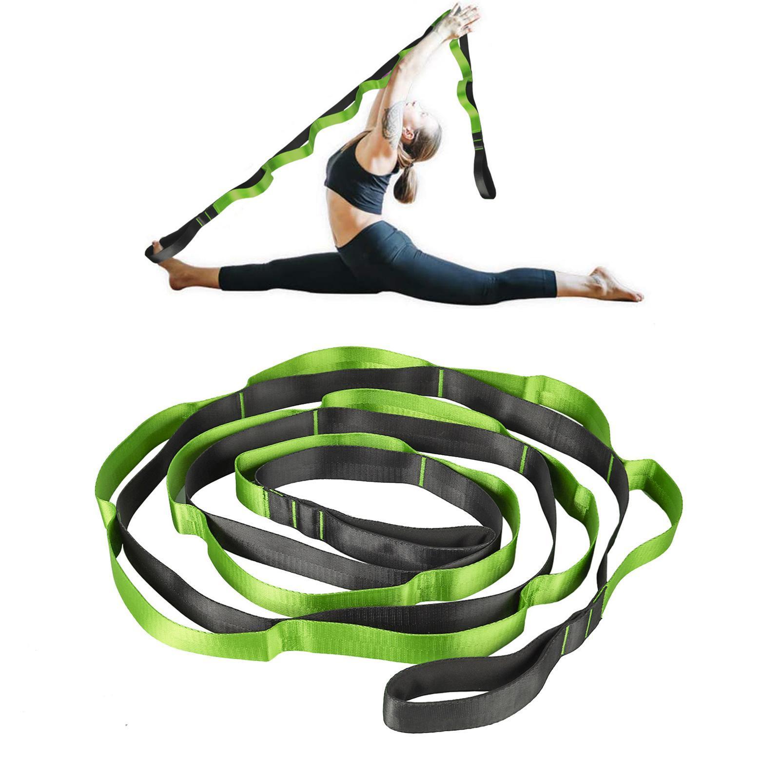 miniatura 18 - Pierna camilla yoga Stretch Strap Latin Dance Gymnastic pull cinturón flexibilidad