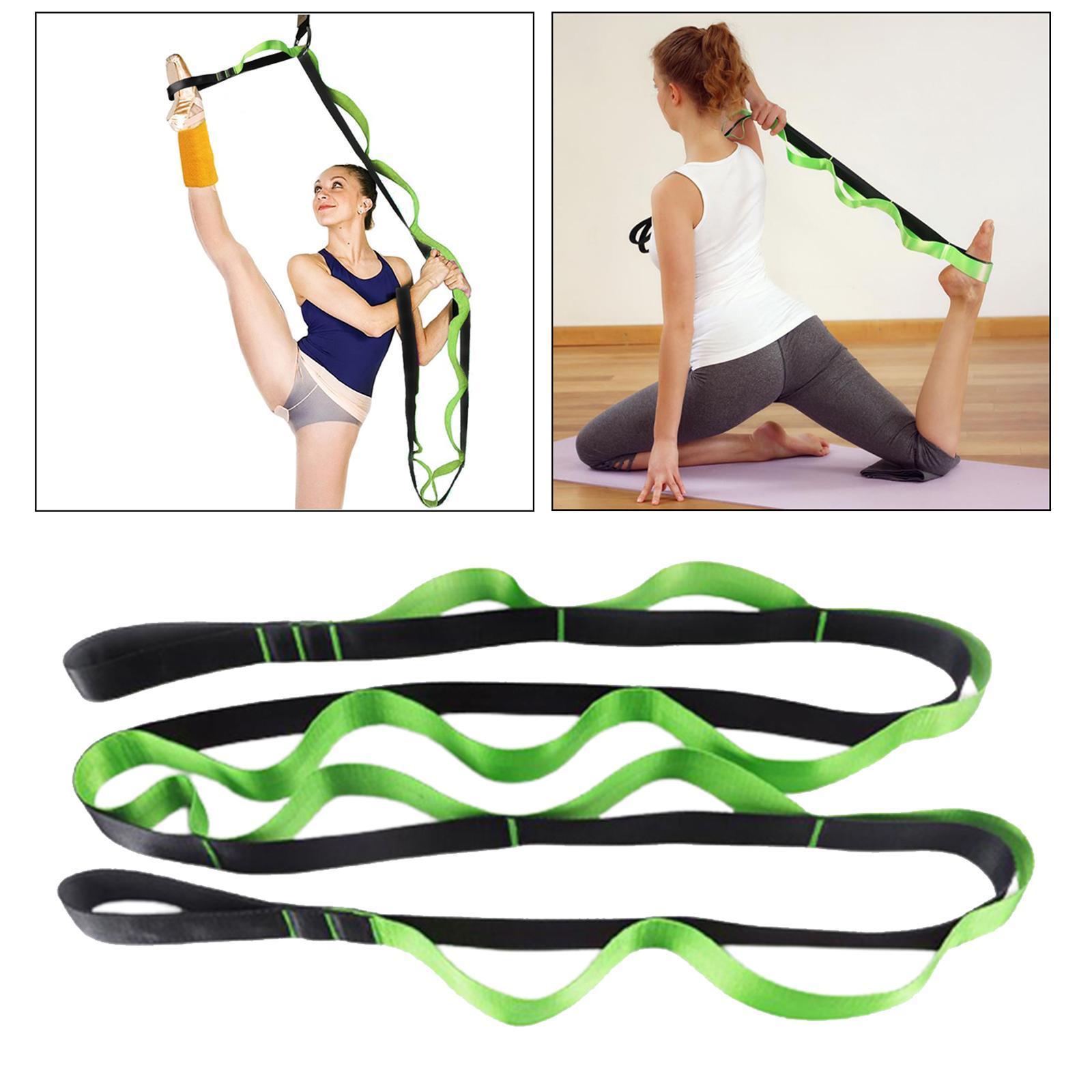 miniatura 17 - Pierna camilla yoga Stretch Strap Latin Dance Gymnastic pull cinturón flexibilidad