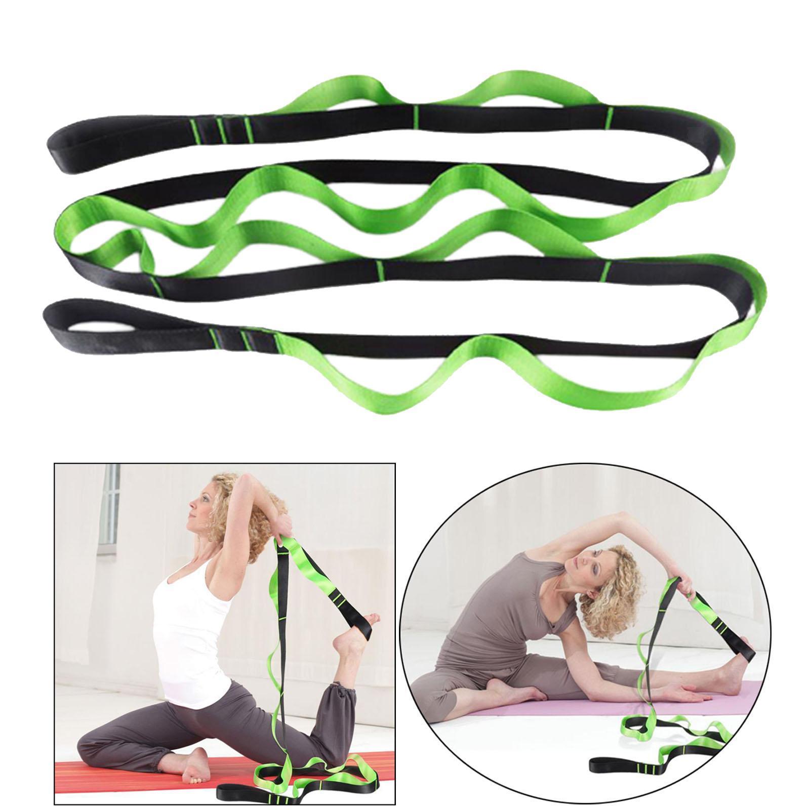 miniatura 20 - Pierna camilla yoga Stretch Strap Latin Dance Gymnastic pull cinturón flexibilidad