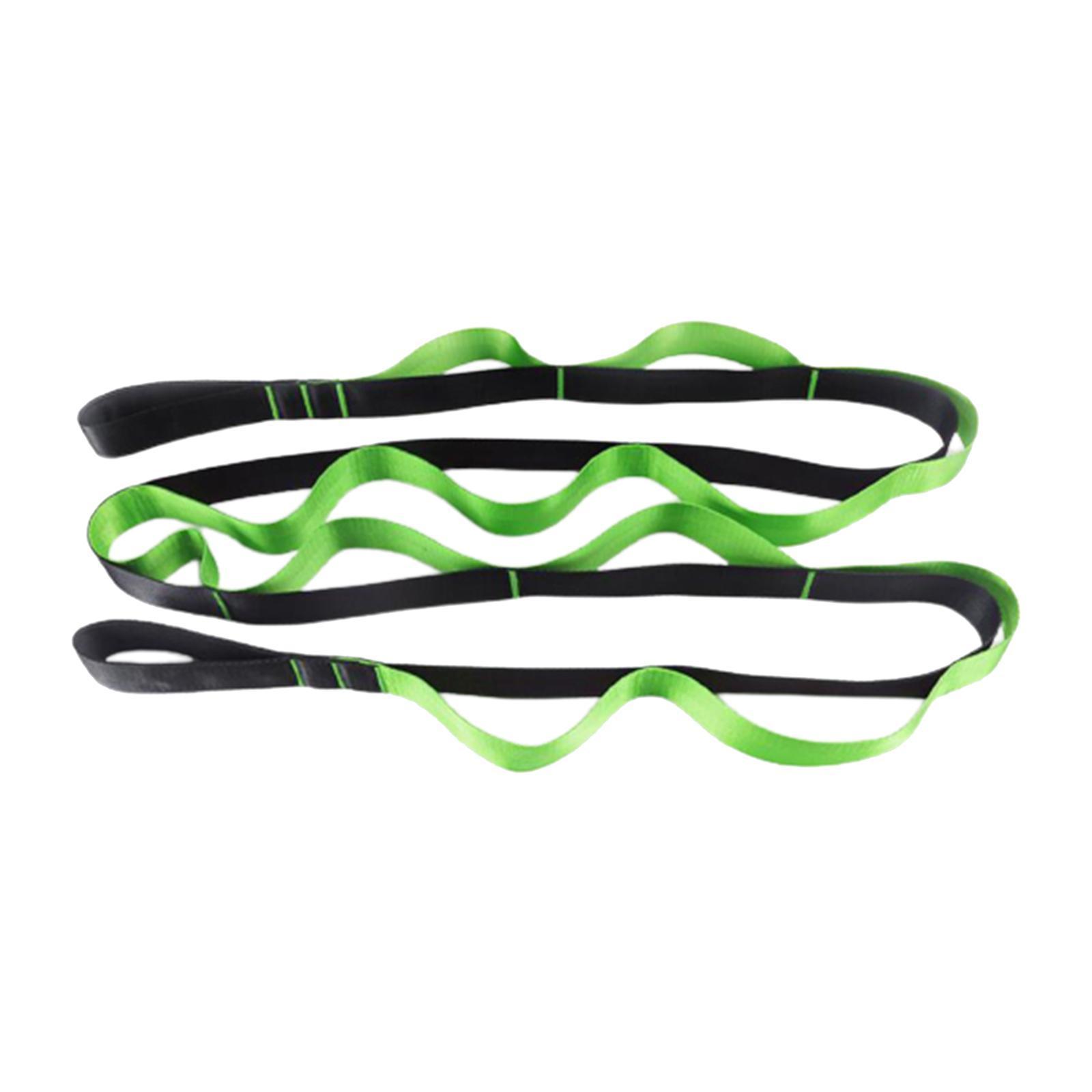 miniatura 22 - Pierna camilla yoga Stretch Strap Latin Dance Gymnastic pull cinturón flexibilidad