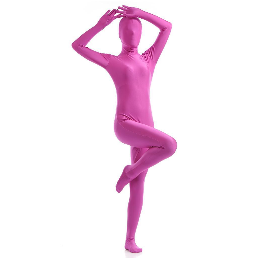 Ganzkörperkostüm Second Skin Bodysuit Ganzkörper anzug Haut Kostüm Catsuit .