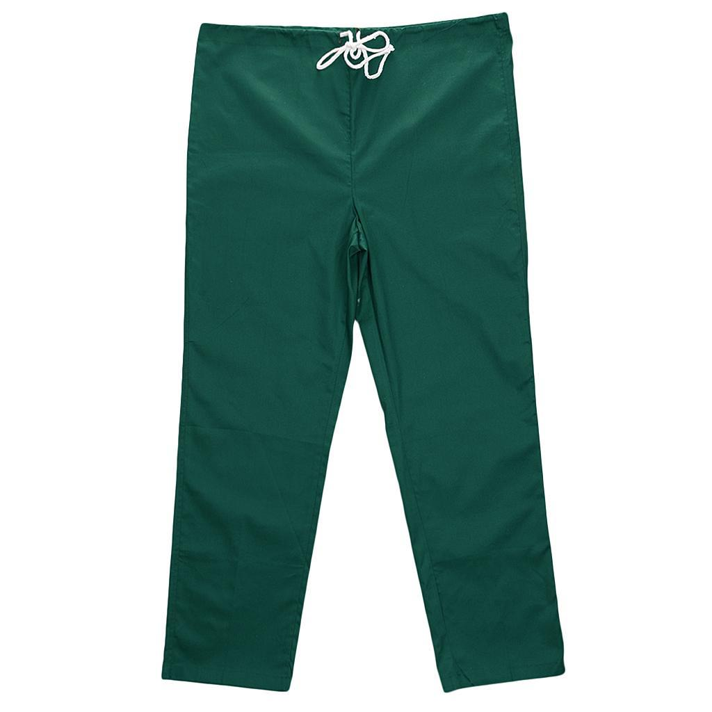 Men-Women-Scrub-Sets-Medical-Spa-Nursing-Clinic-Hospital-Uniform-Top-Pants miniature 53