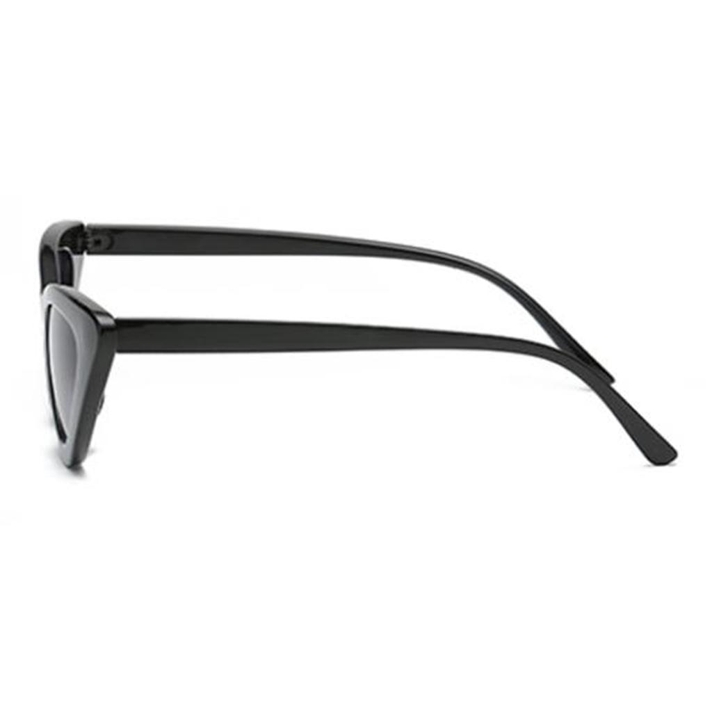 2er-Pack-Frauen-Vintage-Dreieck-Verspiegelte-Sonnenbrille-Brillen-Designer Indexbild 4