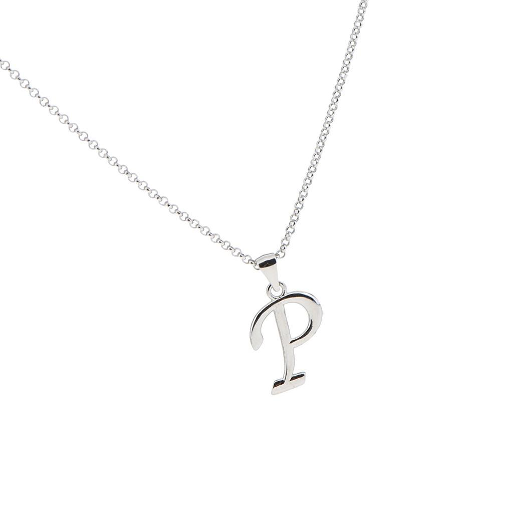 A-Z-Alphabet-Initial-Letter-Pendant-Necklace-Chain-Choker-Jewelry-Men-Women thumbnail 53