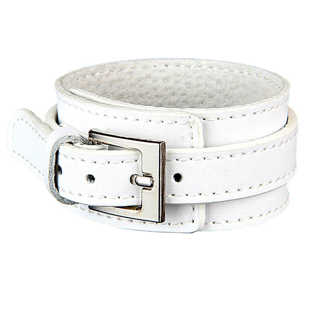 Indexbild 9 - Modeschmuck Pu Kuh Leder Breite Stulpe Armband Snap Armreif Für Männer Frauen