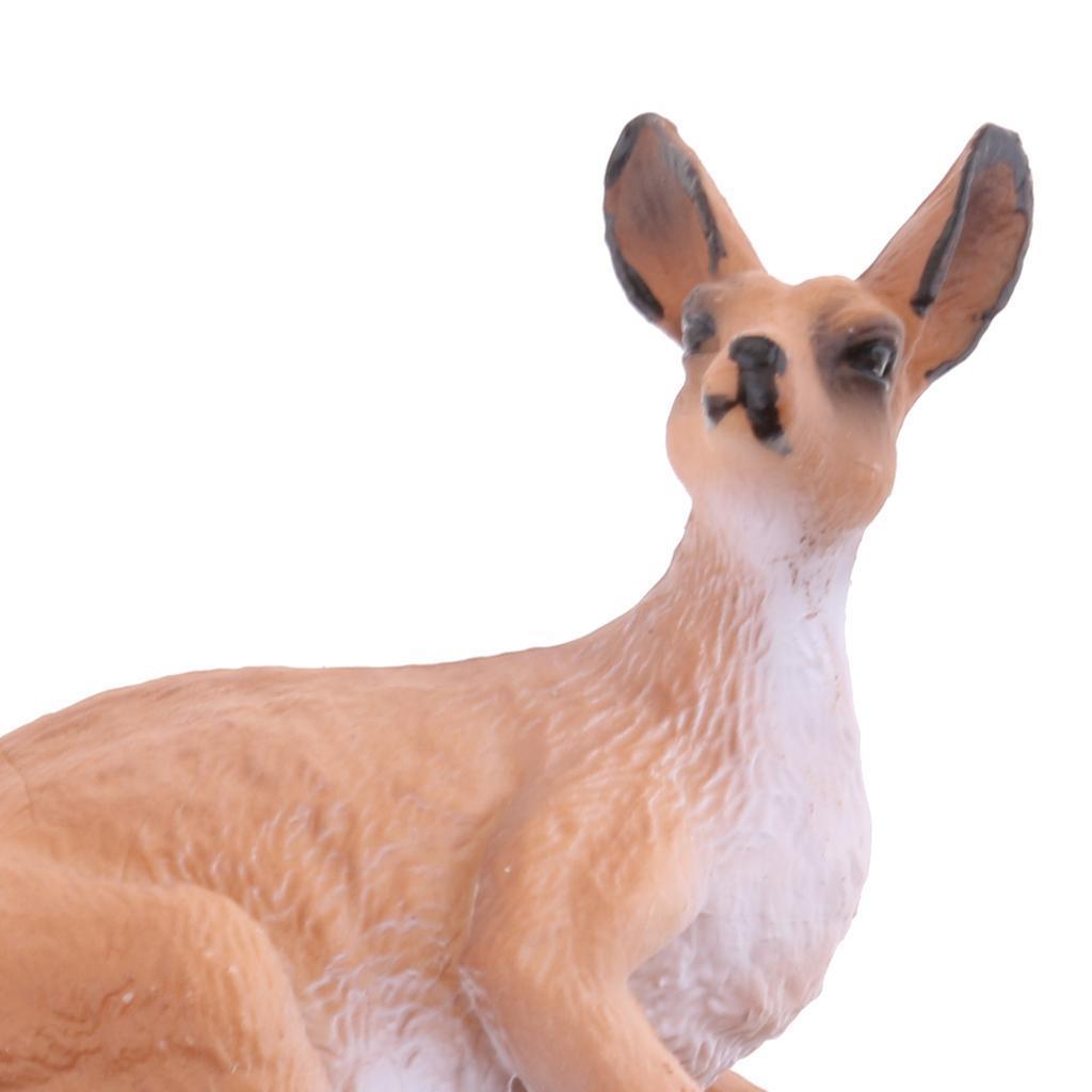 Realistico-Selvaggio-Farm-Natura-Animale-Albero-Modello-Azione-Figure-Kid miniatura 22
