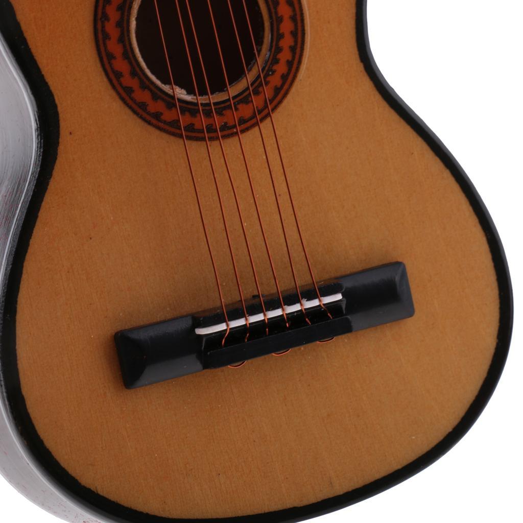 1:6 Guitar//Violin//Clarinet//Horn Model Action Figure Dolls House Instrument Decor