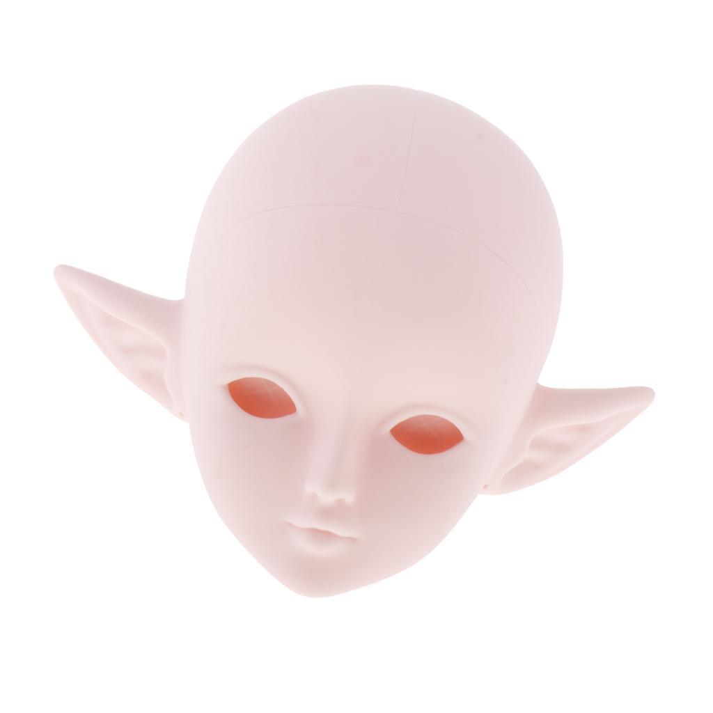 24-039-039-1-3-Dolls-Plastic-Head-DIY-Replacement-Doll-Body-Parts-White-Skin thumbnail 3