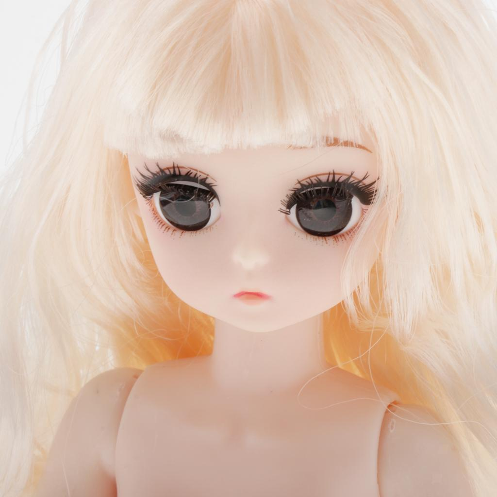 28cm-BJD-Baby-Girl-Doll-Nude-Body-Fashion-Dolls-DIY-Toy-for-Girls-Gifts thumbnail 45