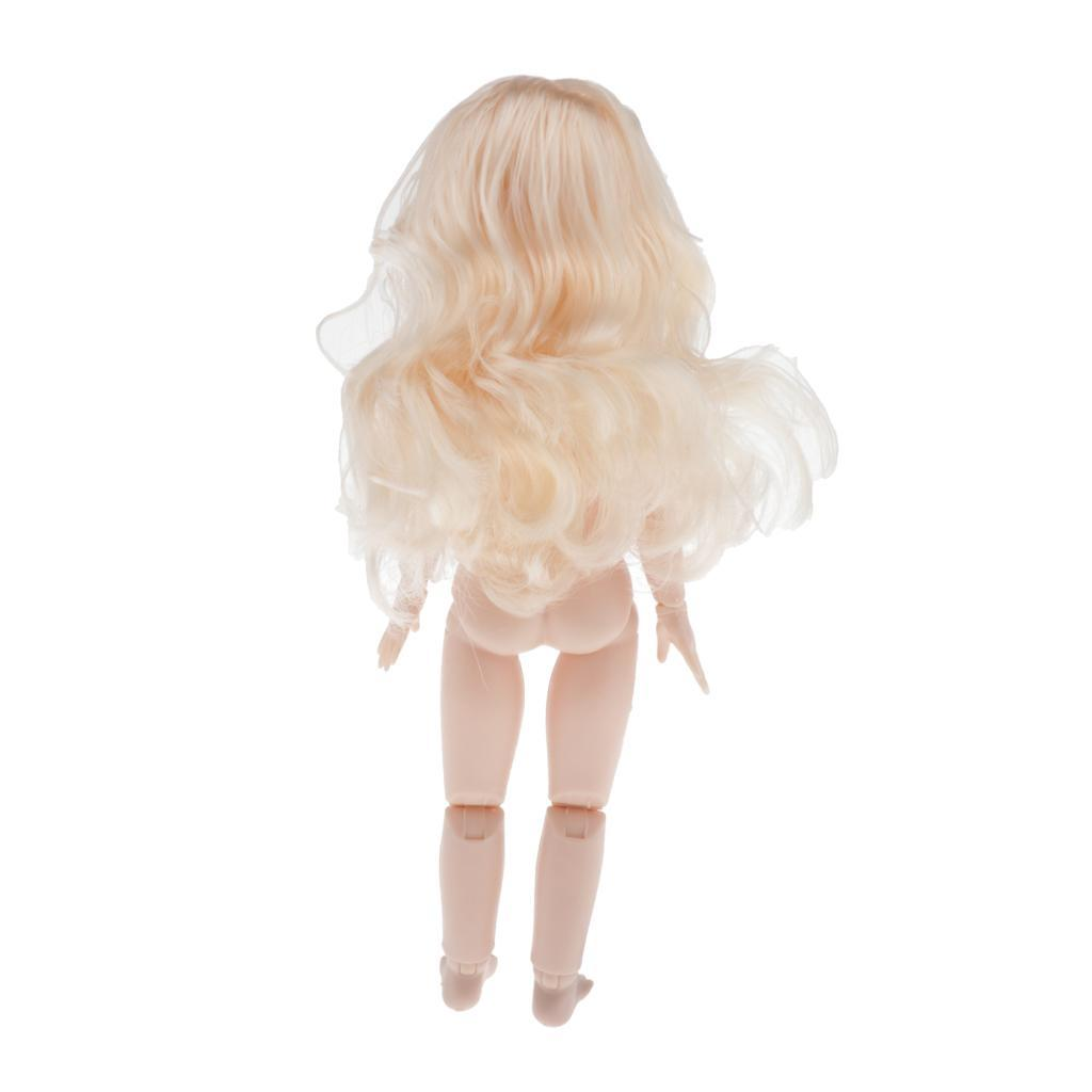 28cm-BJD-Baby-Girl-Doll-Nude-Body-Fashion-Dolls-DIY-Toy-for-Girls-Gifts thumbnail 46